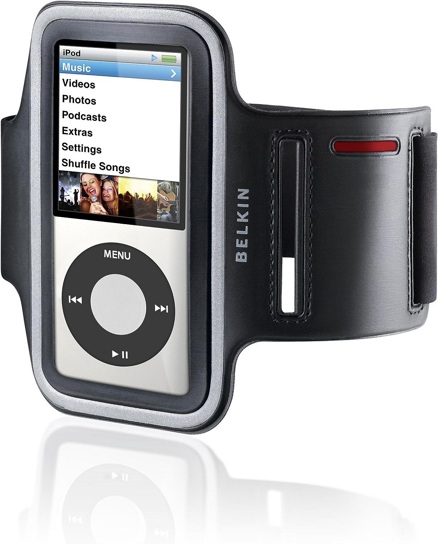 Belkin Dual-Fit Armband for iPod nano 4G (Black)