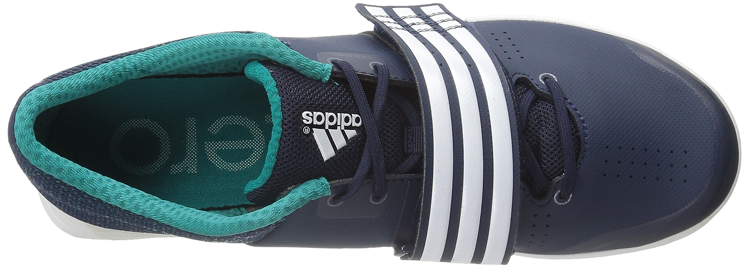 adidas Performance Women's Adizero TJ/PV Running Shoe with Spikes,Collegiate Navy/White/Green,14 M US by adidas (Image #8)