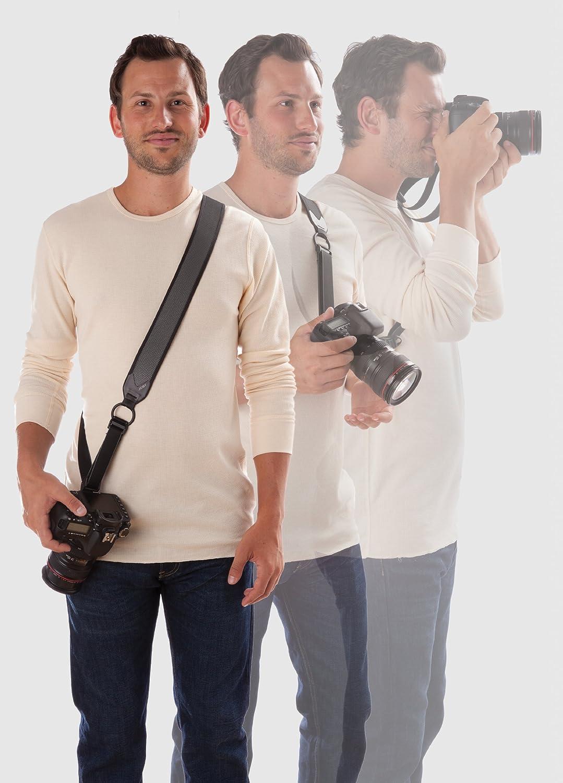 Joby UltraFit Sling Strap - Correa DSLR para hombres, antracita JB01257-BAM