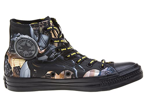 fb4017318b4e85 Converse Chuck Taylor DC COMICS Batman High Top (Men 10.0 Women 12.0 ...