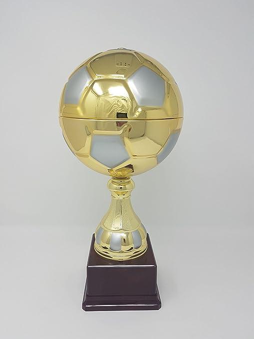 Balón fútbol oro 37 cm: Amazon.es: Deportes y aire libre