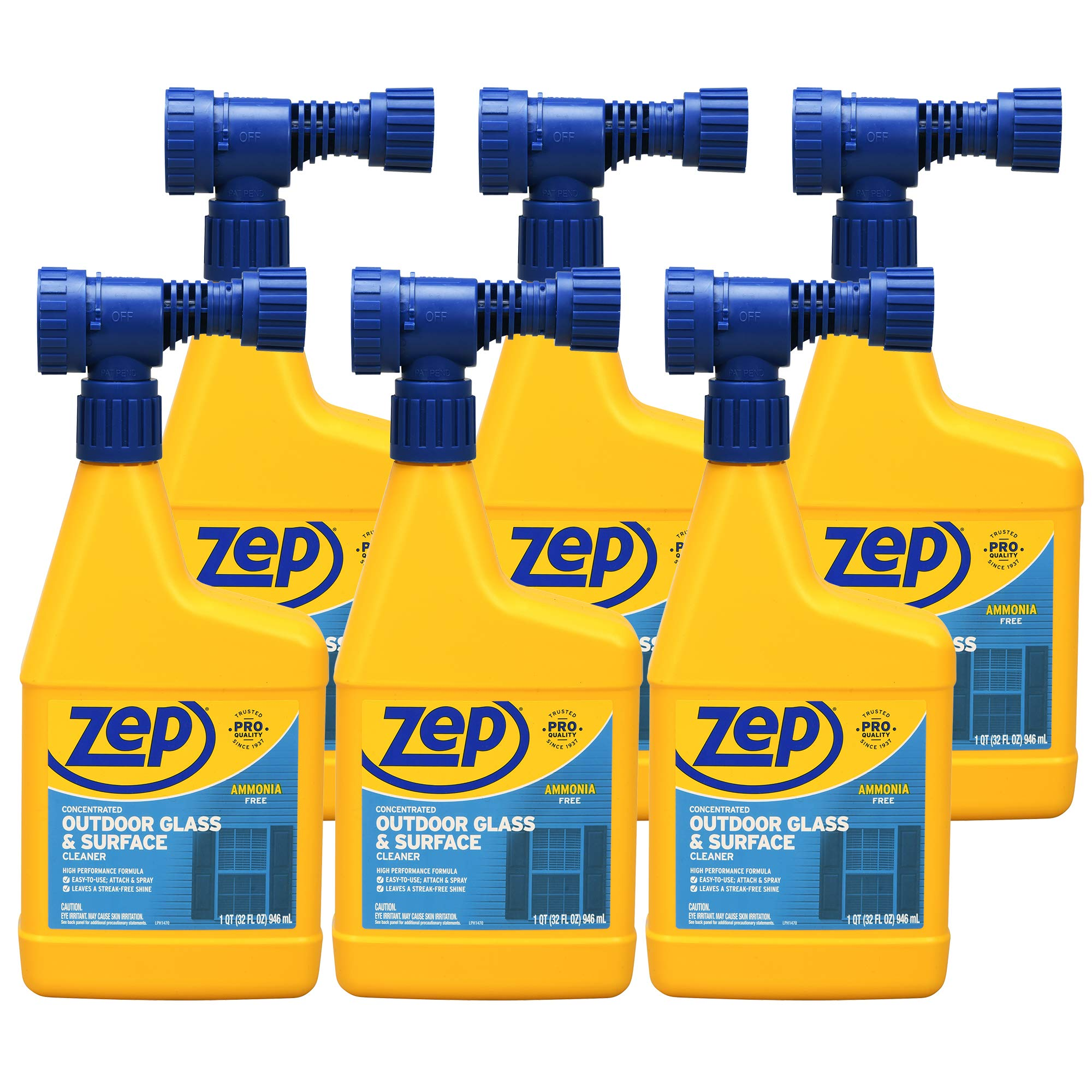 Zep Hose-End Outdoor Cleaner 32 Ounce (Case of 6)