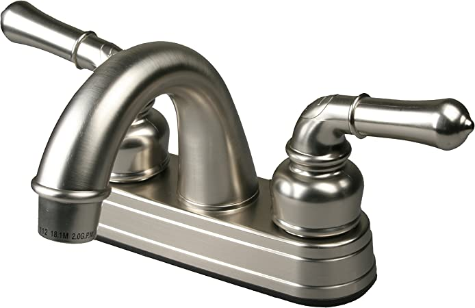 Ultra UF08042C Two-Handle Chrome Non-Metallic Series Lavatory Faucet