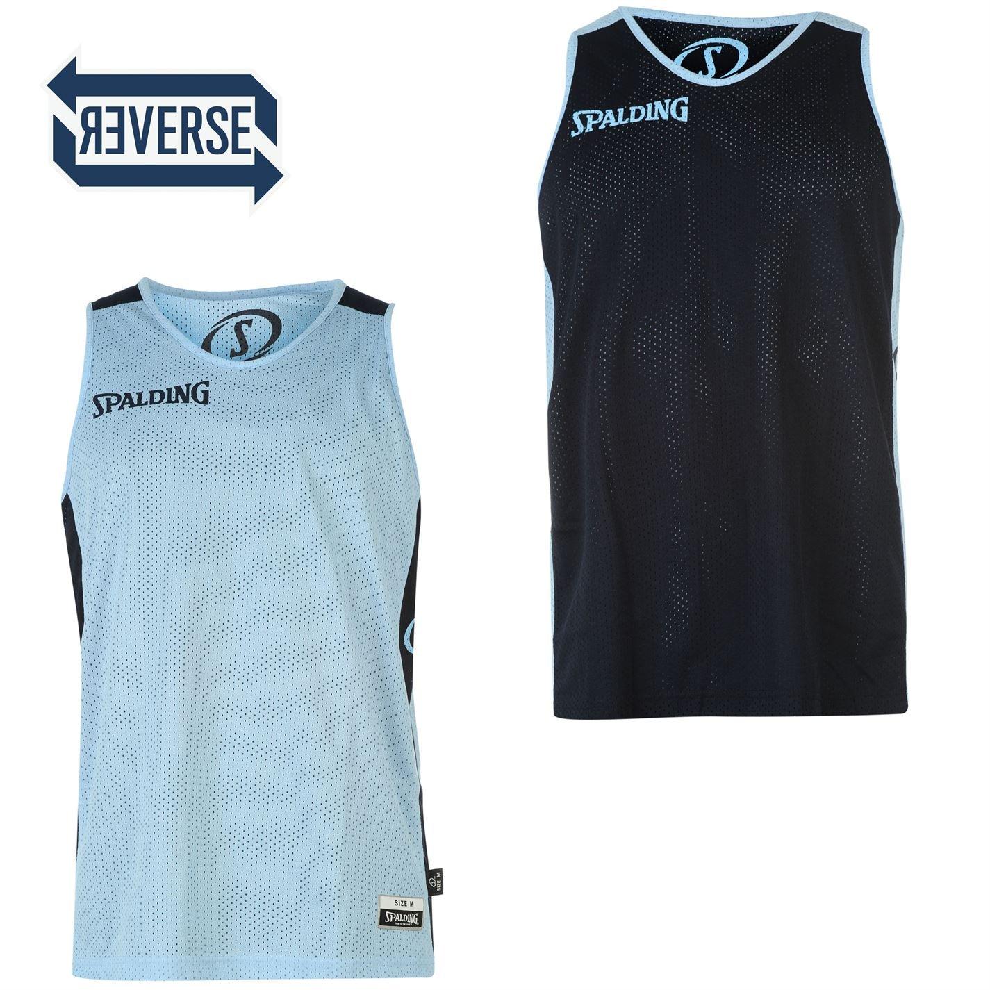 Spalding Reversible Camiseta de baloncesto aermel Hombre los ...