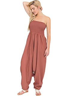 8f7dfd6e23db likemary Harem Jumpsuit and Hareem Pants 2 in 1 Cotton Printed ...