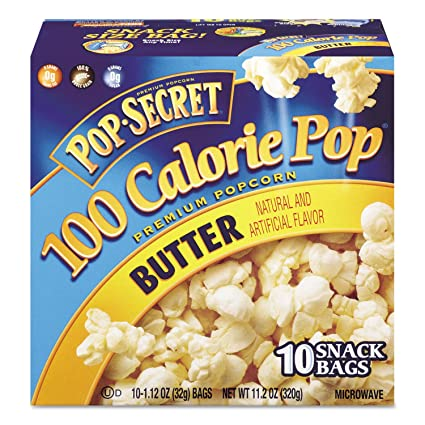 Microondas palomitas de maíz, mantequilla, 1,2 oz bolsas, 10 ...