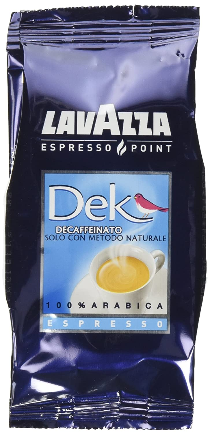 Lavazza 457 Decaffeinated DEK Espresso Point Cartridges (50 Capsules) Single-Serve Coffee Capsules & Pods,