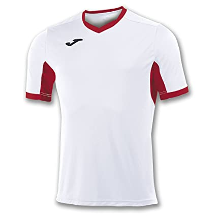 Joma Teamwear T-Shirt Champion IV Short Sleeves White-Red