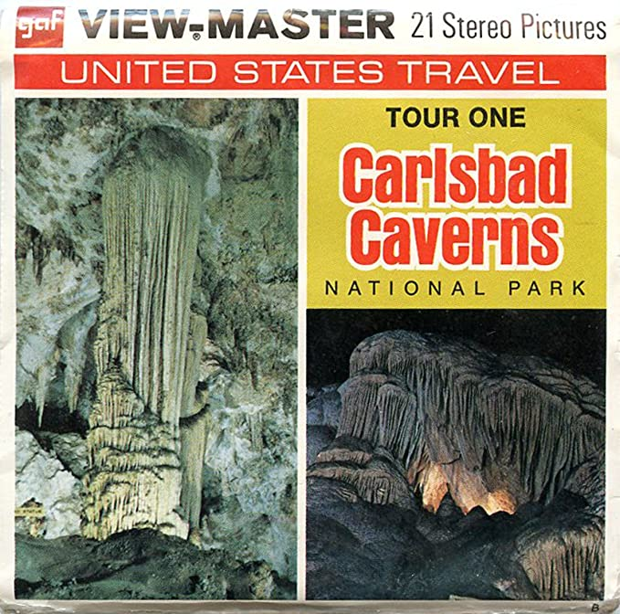 Caverns of Luray Virginia ViewMaster 3 Reel Set 21 3d Images