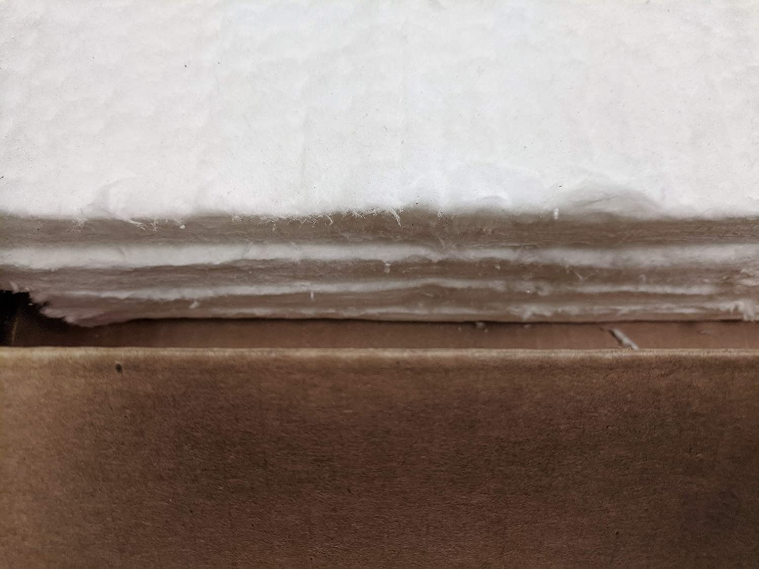 Forges Kilns 4 Each Fireplaces /& More - 12x24x1 Ceramic Fiber Blanket Insulation 6# 2300F for Wood Stoves Pizza Ovens