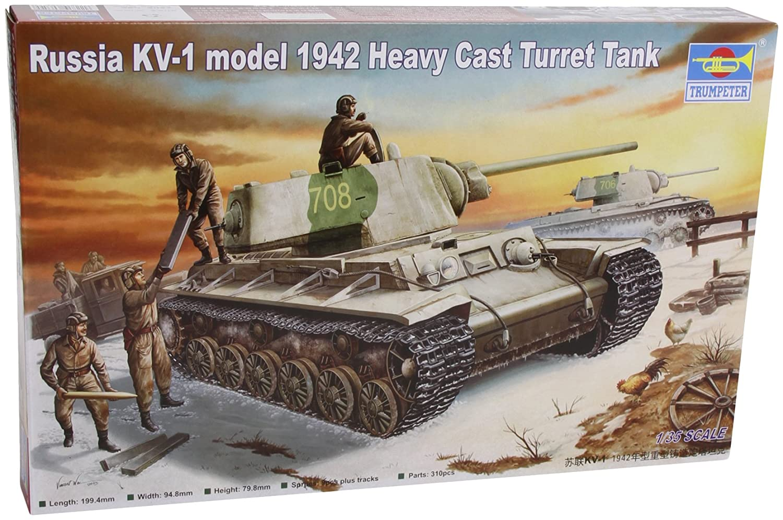 Trumpeter 359 - Russland KV-1 (1942) Heavy Cast Turret Tank