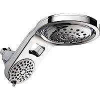 Deals on Delta Faucet HydroRain 5-Spray Touch-Clean 2-in-1 Rain Shower Head