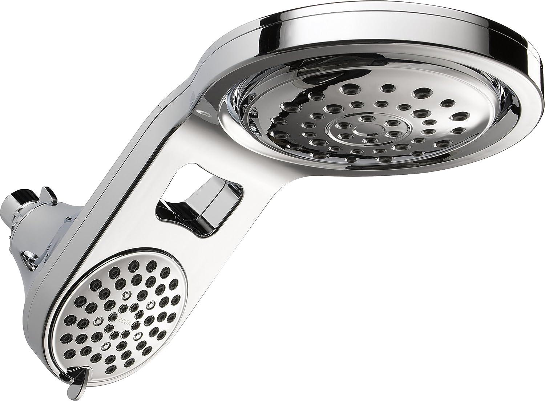 Delta HydroRain 5-Spray Touch-Clean 2-in-1 Rain Shower Head $50  Coupon