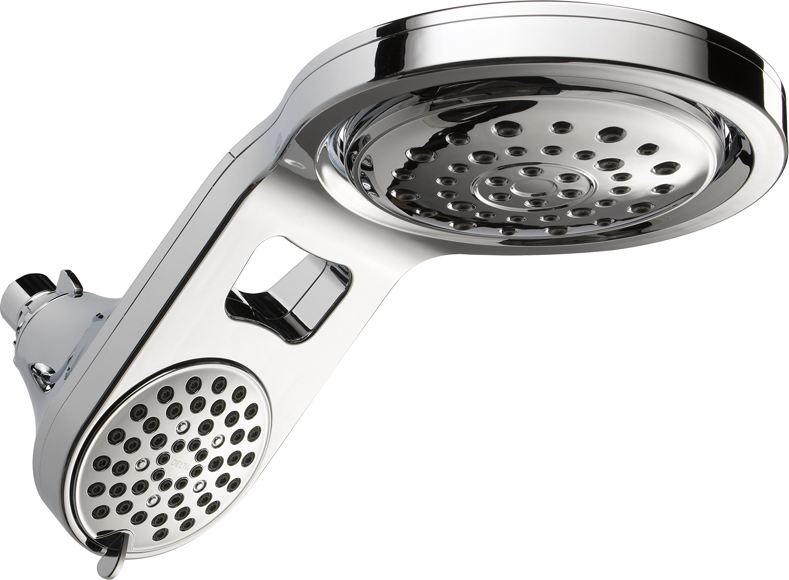 Delta 58580-PK UniversalShoweringComponents Hydrorain 5-Setting Integrated Raincan/Shower head, Chrome