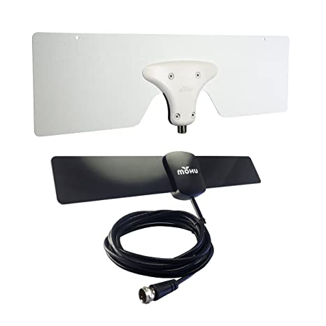 Mohu City TV Antenna Pack for Apartments with Leaf Metro and Basic 25 Indoor HDTV Antennae