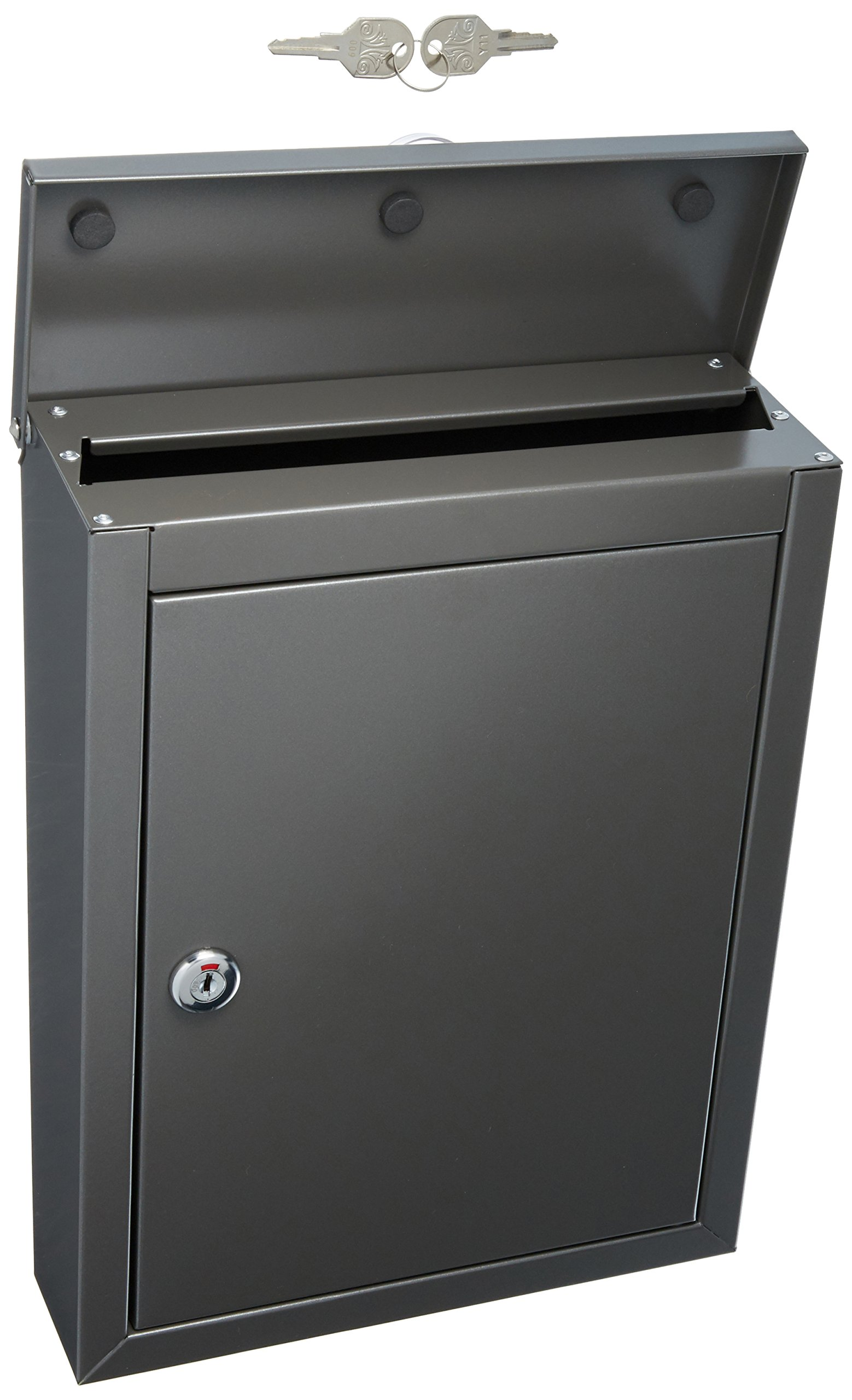 Architectural Mailboxes 2580Z-10 Chelsea Wallmount, Small, Graphite
