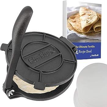StarBlue 8-Inch Cast Iron Tortilla Maker