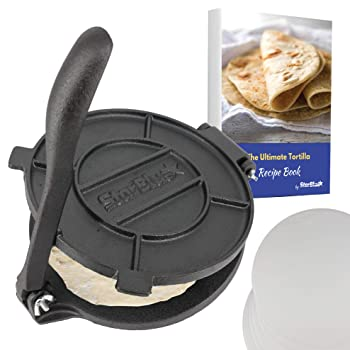StarBlue 8-Inch Cast Iron Tortilla Maker