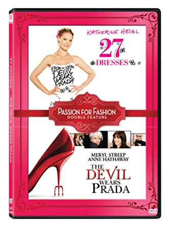 c5a8cb7f22ed Amazon.in: Buy Passion for Fashion - 2 Movies Collection: 27 Dresses + The  Devil Wears Prada DVD, Blu-ray Online at Best Prices in India | Movies & TV  Shows