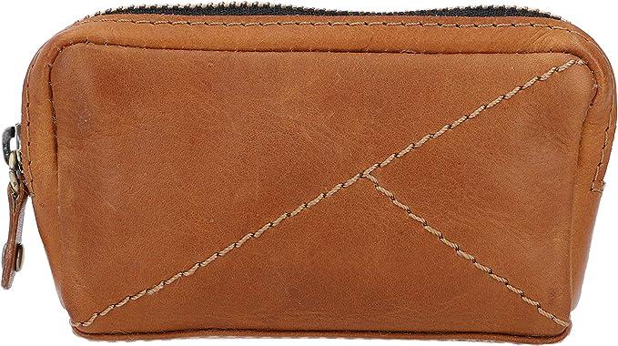 Gusti Schlüsseltasche Leder Filippa Portemonnaie Geldbeutel Klein Schlüsseletui Schlüsselmappe Braun Leder Koffer Rucksäcke Taschen
