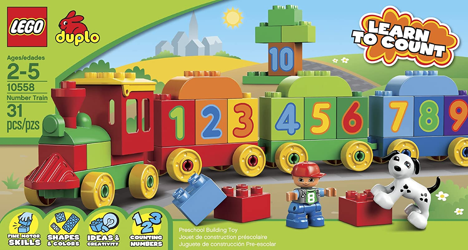 Amazon Lego Duplo Number Train 10558 Discontinued By