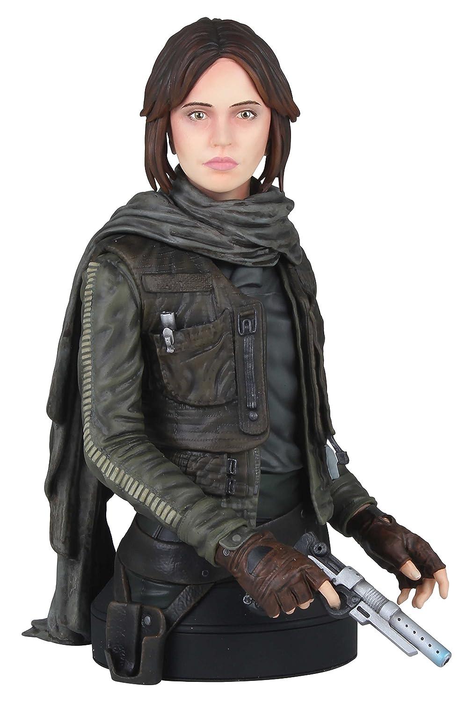 Gentle Giant Studios Star War GG80718 Star Wars Jyn Erso Seal Commander Mini Bust Figure, 1 6 Scale