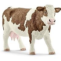 Schleich SC13801 Simmental Cow Figurine