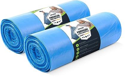 Bolsas de Basura 120 litros - 70 μ (50 unidades): Amazon.es ...