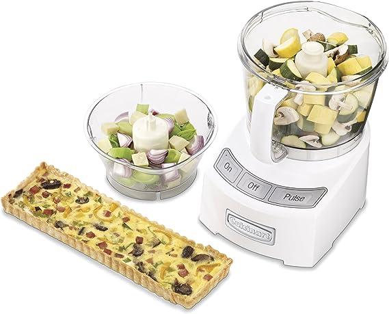 Cuisinart FP-12 - Robot de cocina (Blanco, 1000 W): Amazon.es: Hogar