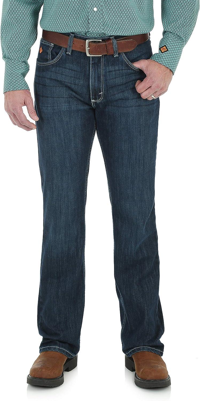 Wrangler Riggs Workwear Men's 20X FR Vintage Boot Cut Jean