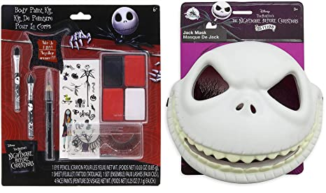 Amazon Com Spooked Out Mask Nbc Nightmare Before Christmas
