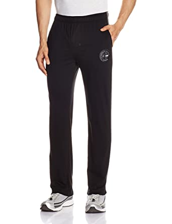 4fb1983df0d02 Jockey Men's Cotton Track Pants (8901326124055_9509_Small_Black and  Charcoal Melange)