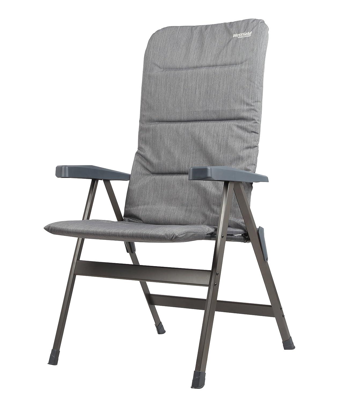 Westfield Diamant Faltbarer Camping Stuhl mit abnehmbarem Kissen