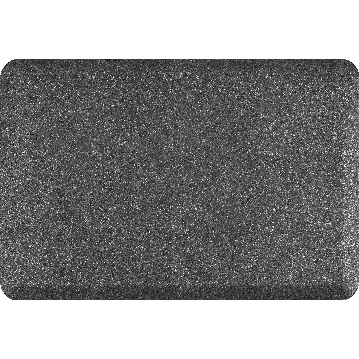 WellnessMats Granite Anti-Fatigue Mat - Comfort, Support & Style - Non-Slip, Non-Toxic - 3'x2'x 3/4'' Granite Steel