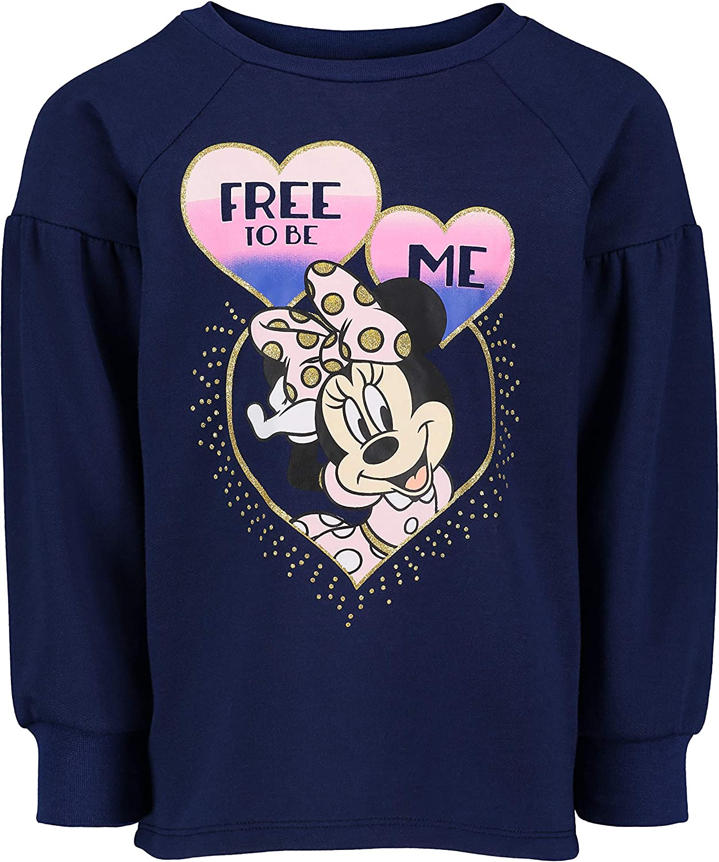 Disney Minnie Mouse Girls Long-Sleeve Fashion Shirt /& Legging Outfit Set 4-6X