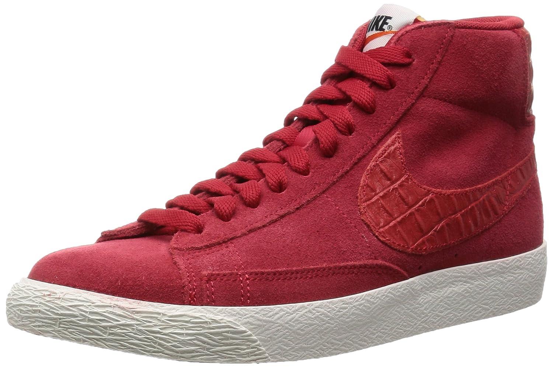 Nike Blazer Mid PRM VNTG, Zapatillas de Baloncesto para Hombre 44 EU|Rojo / Azul (Gym Red / Gym Red-sail)