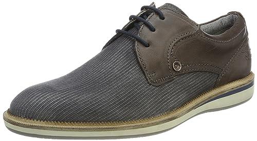 Bugatti 322409026932, Zapatos de Cordones Derby Para Hombre, Gris (Dark Grey), 40 EU amazon-shoes el-gris Cordones