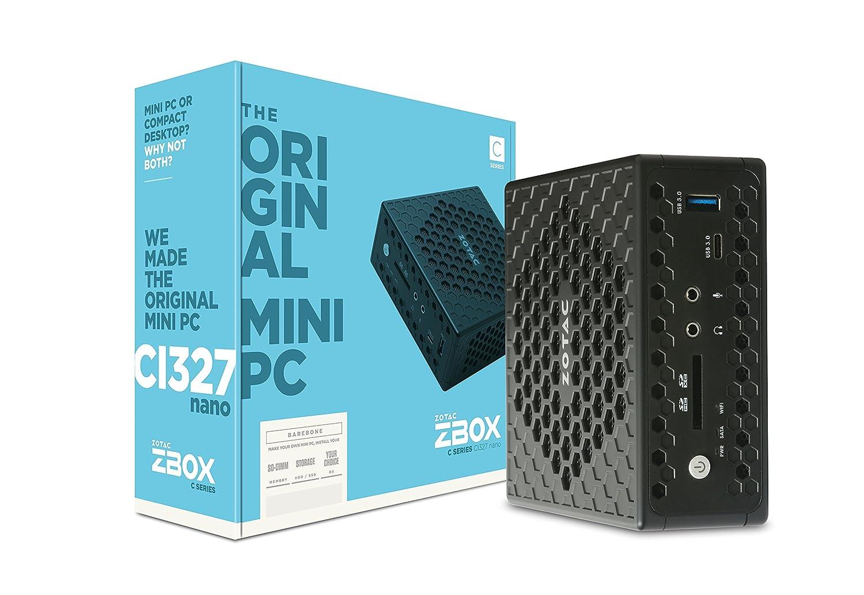 Zotac ZBOX CI327 Nano - Ordenador de Sobremesa