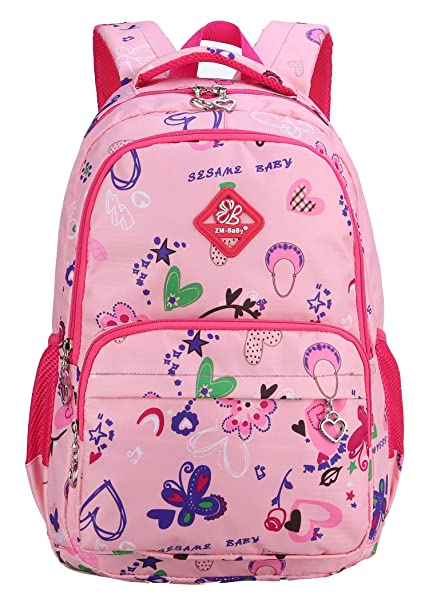 5eebc22ce43 Preschool Backpacks for Little Girls Kids Kindergarten School Bags(Small,  Rose Red)
