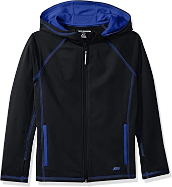Essentials Boys Full-Zip Polar Fleece Jacket Ni/ños