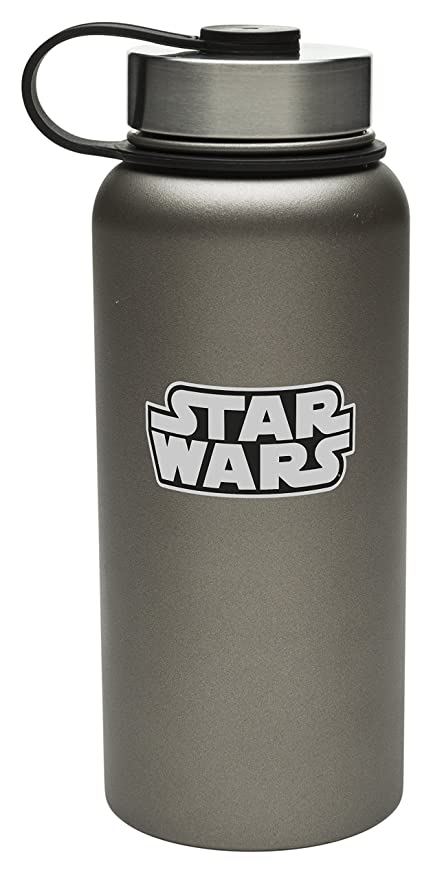65f84772baf Image Unavailable. Image not available for. Color  Zak! Designs Stainless  Steel Water Bottle ...