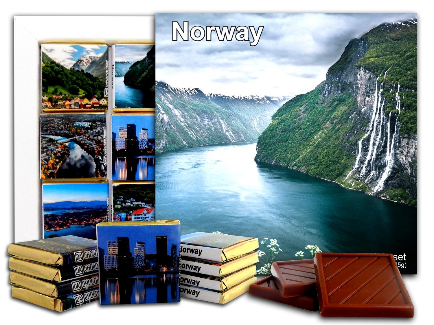 NORWAY Chocolate Gift Set 5x5in 1 box (Day 2256)