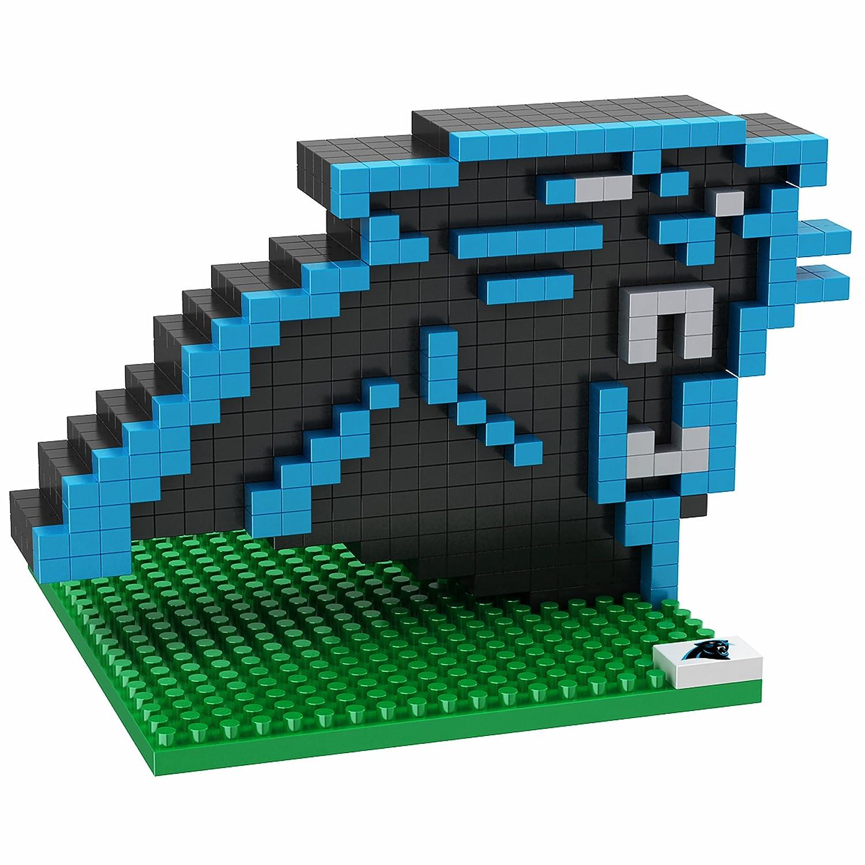 Carolina Panthers NFL Team 3D BRXLZ LOGO Puzzle NFL BRXLZ