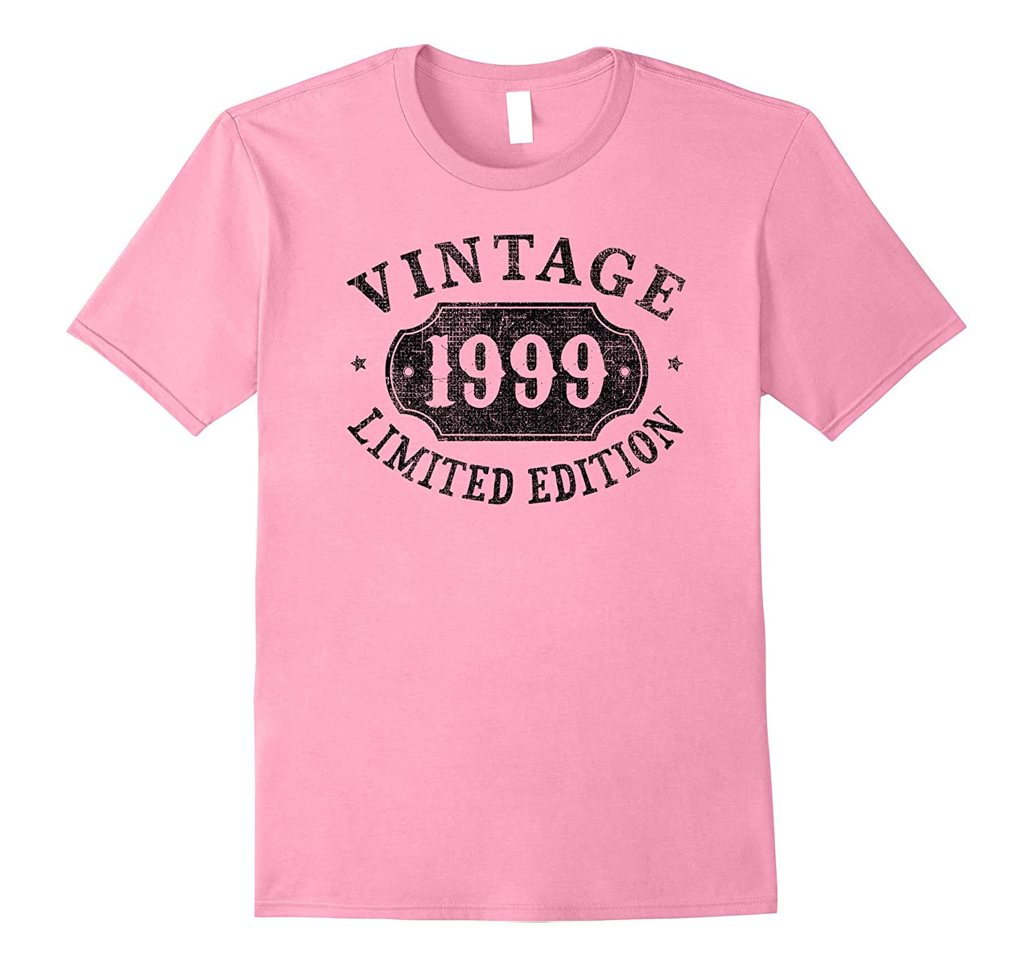 18 years old 18th B-day Birthday Gift 1999 Limited T-Shirt-Rose