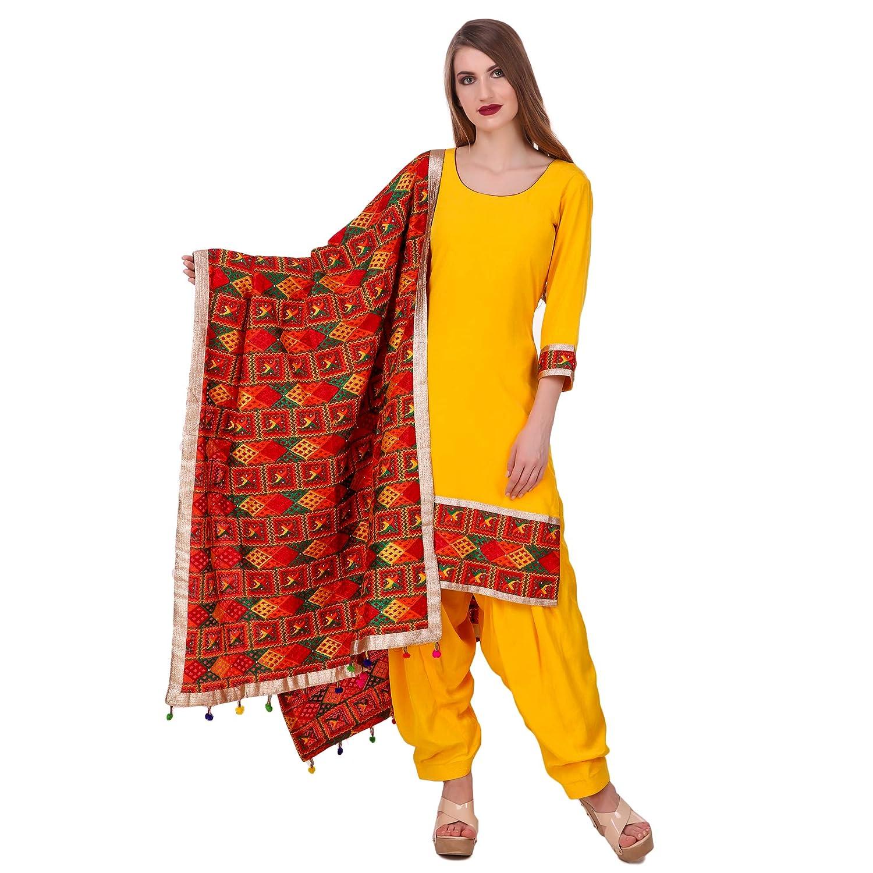 Nivetas Design Studio Magenta Punjabi Suits For Girls And Women With