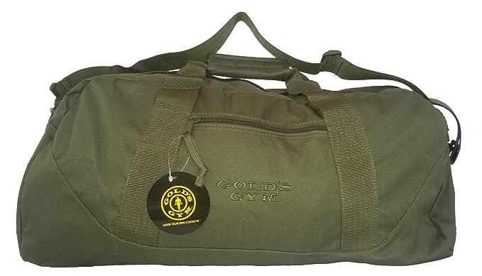 5e69e8524452 G964 Golds Gym Duffel Bag (Army)  Amazon.ca  Clothing   Accessories