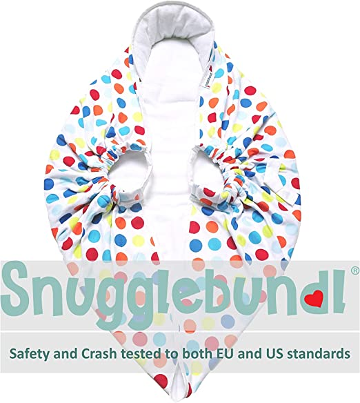 SNUGGLEBUNDL HOT CLIMATE Brand New The Baby Blanket with Handles