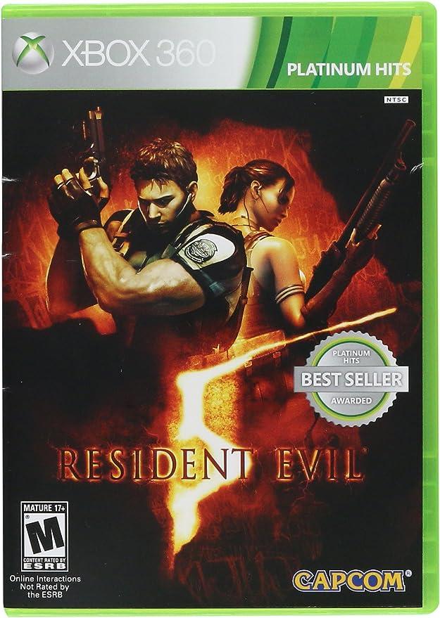 Capcom Resident Evil 5, Xbox 360, ESP - Juego (Xbox 360, ESP ...