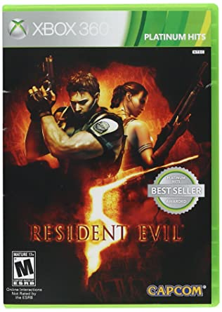 Amazon Com Resident Evil 5 Xbox 360 Capcom U S A Inc Video Games