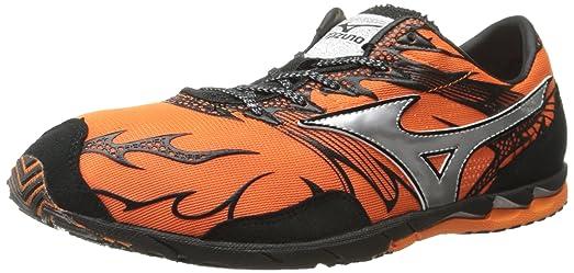 Mizuno Unisex Wave Universe 4 Running Shoe,Vibrant Orange/Anthracite,US  Women's 10.5